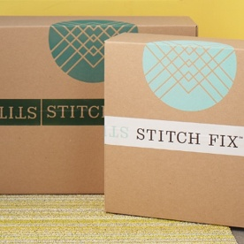 Stitch Fix delivery boxes.